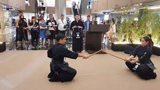 Kendo Japanese Sword Demo by Singapore Kendo Club