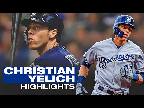 Christian Yelich - Recent Highlights (Brewers Star/former NL MVP tears it up!)   MLB Highlights