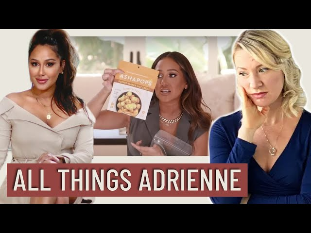 Dietitian Reviews All Things Adrienne What I Eat In A Day (YIKES THIS IS BAD)
