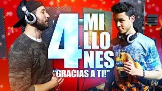 """GRACIAS A TI"" | ESPECIAL 4 MILLONES | ElMele ft. TheGrefg"