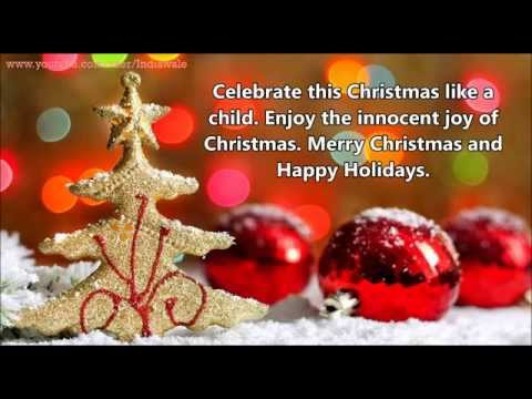 UNIQUE MERRY CHRISTMAS WISHES, BEAUTIFUL WHATSAPP VIDEO & NEW YEAR ...