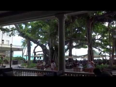 Moana Surfrider The Beach Bar The Veranda waikiki beach yacht 20150813 1344
