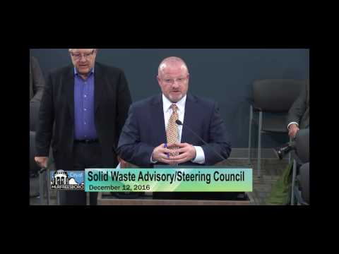 Rutherford County Solid Waste Advisory/Steering Council (12/12/16)