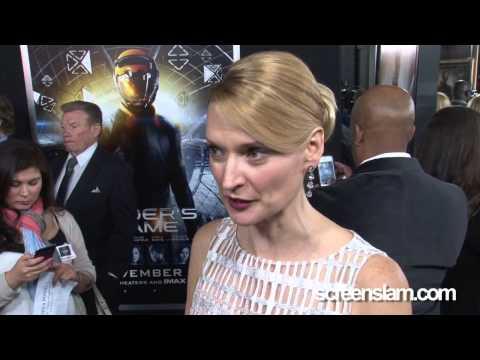 Ender's Game: LA Premiere  Andrea Powell Exclusive
