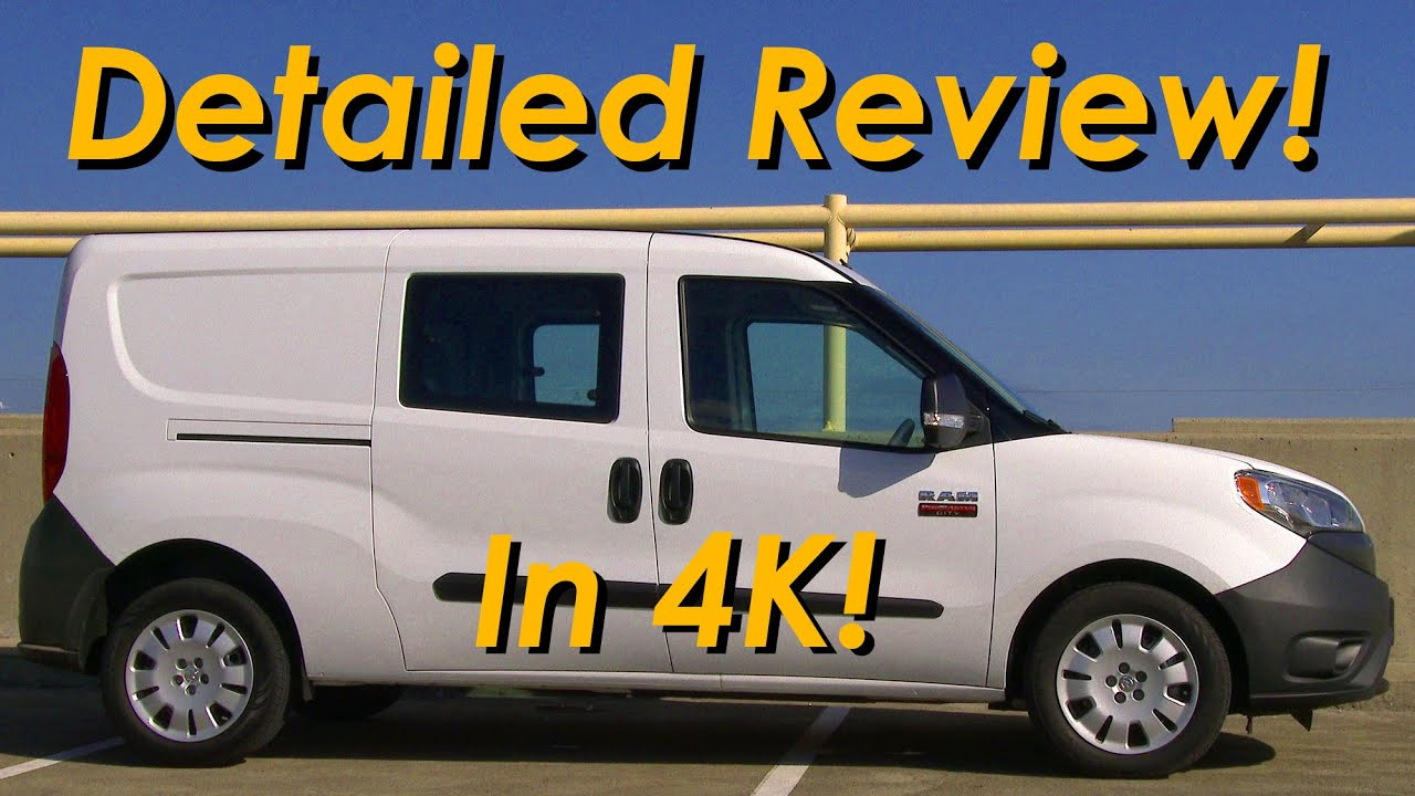2015 RAM ProMaster City Wagon DETAILED Review In 4K YouTube