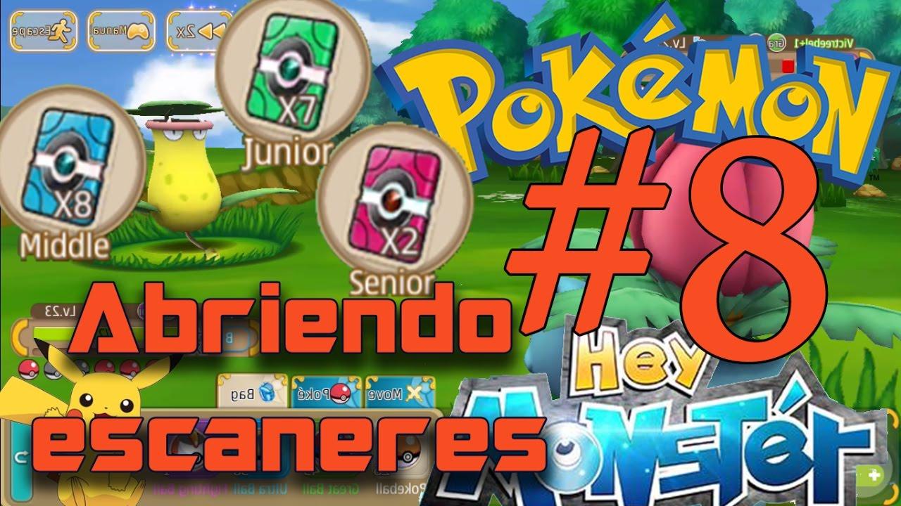 Scanner Opening - Hey Monster / Pokemon Remake - YouTube