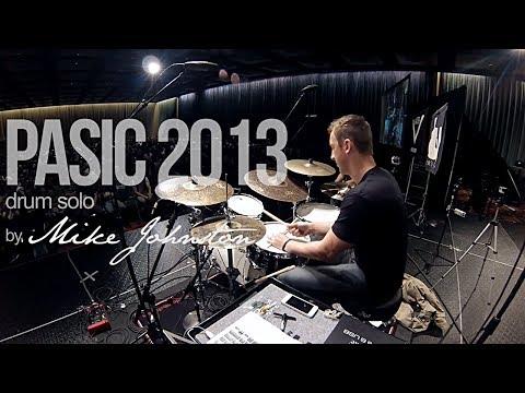 Mike Johnston 2013 PASIC Drum Solo