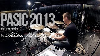 Mike Johnston 2013 PASIC Drum Solo