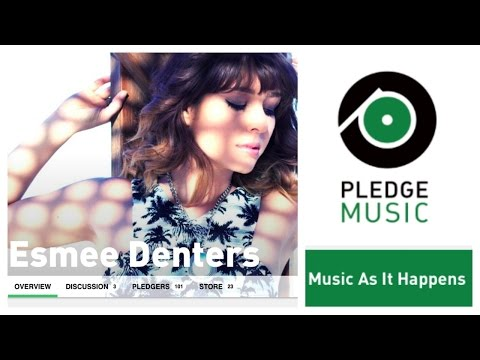 Be part of my new EP - Pledge Music Campaign Mp3