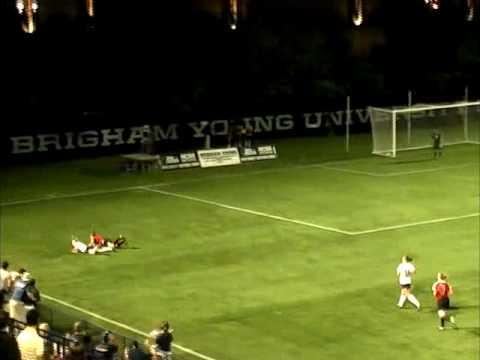 Megan Tomlinson Highlight Reel vs BYU 2008