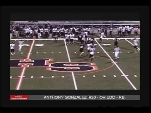 Anthony Gonzalez Junior year highlight video