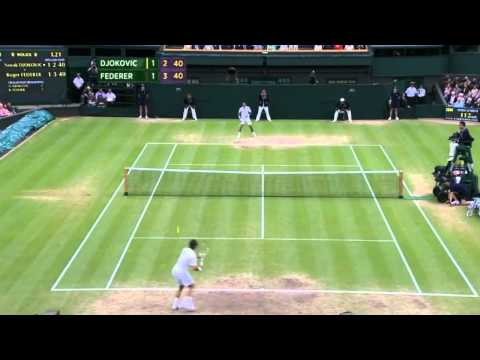 Roger Federer vs Novak Djokovic - Wimbledon 2012 Semi-Final - Highlights [HD]