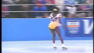 Surya Bonaly (FRA) - 1993 Skate America, Ladies