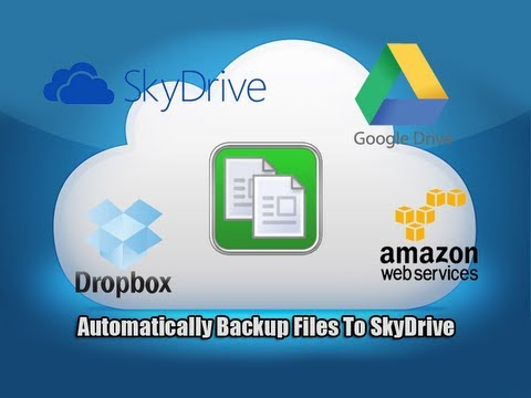 Automatically Backup Files To SkyDrive, Google Drive, DropBox, With Duplicati
