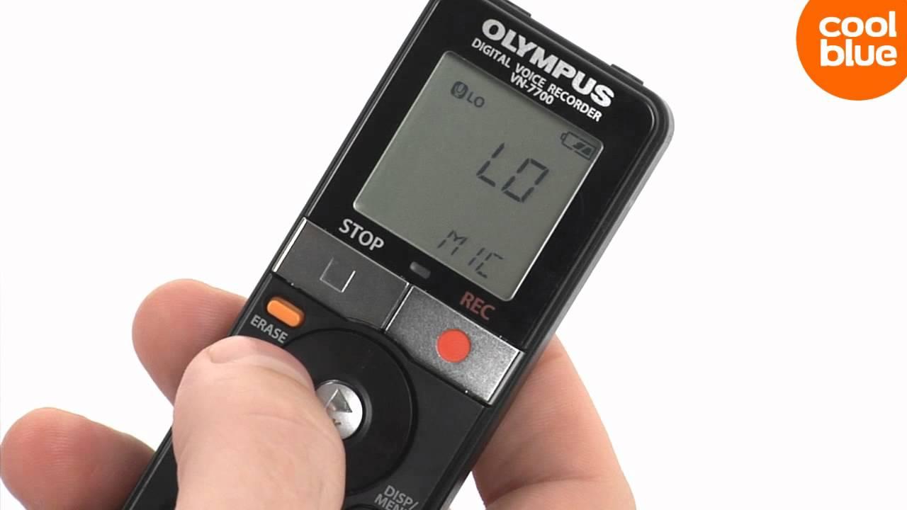 Инструкция к диктофону olympus vn 5200 pc