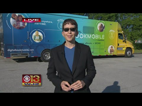 The BCPL Digital Book Mobile Is Bringing E-Books Around Baltimore County