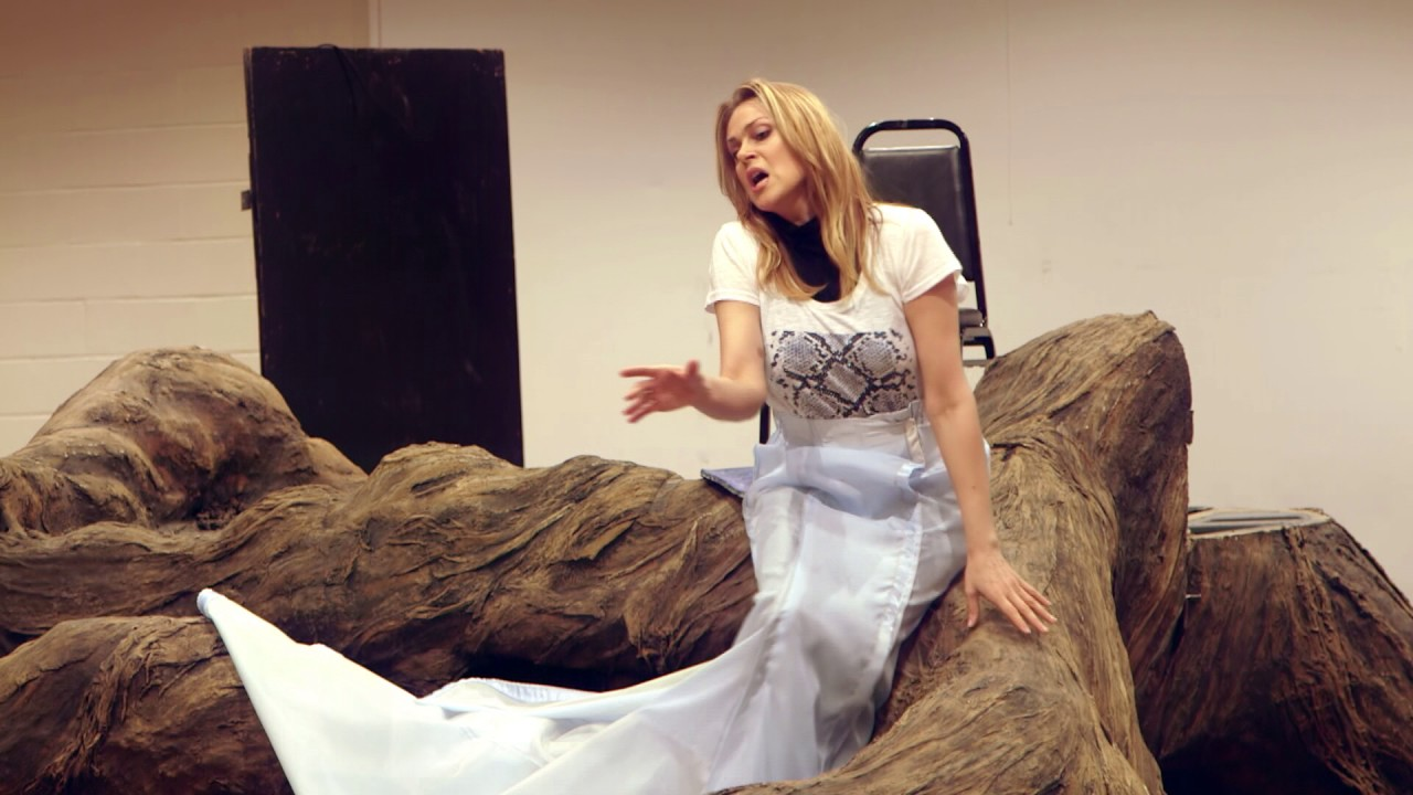 Rusalka: Opolais and Jovanovich in Rehearsal