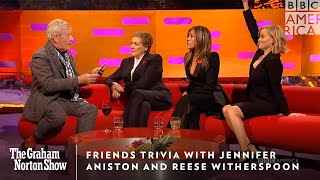 FRIENDS Trivia With Jennifer Aniston & Reese Witherspoon | The Graham Norton Show | BBC America