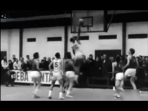 1968 Estudiantes Vs Real Madrid Baloncesto (88-77) Gana Estudiantes  Cancha Ramiro De Maeztu