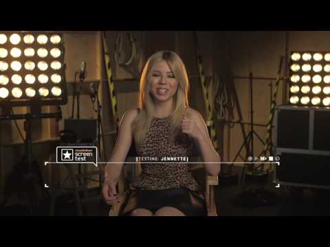 Jennette McCurdy | Screentest Interview | Nickelodeon UK
