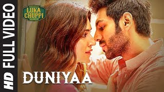 Luka Chuppi: Duniyaa Full Video Song | Kartik Aaryan Kriti Sanon | Akhil | Dhvani B Video