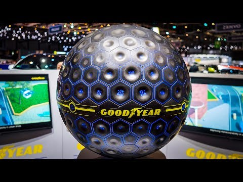 The Future Tire by Goodyear - It's a SPHERE ! – HOW IT'S MADE [GOMMEBLOG]