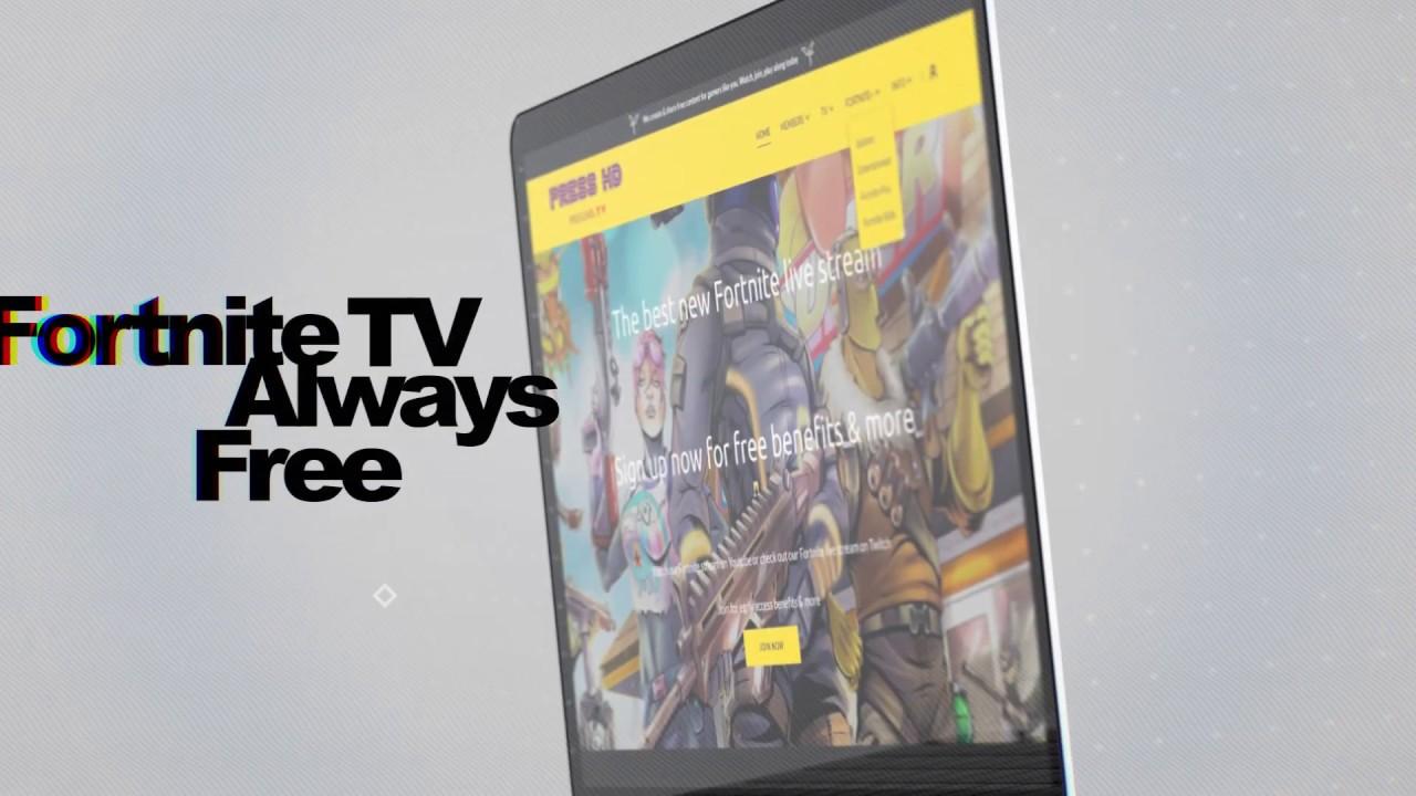 Fortnite Live Stream - PressHD TV