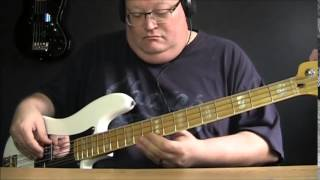 Cheap Trick Dream Police Bass Cover with Notes & Tablature