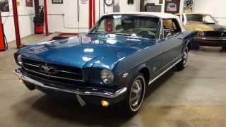 "1964 1/2 Mustang ""K Code"" Hi-Po, 4 Speed Convertible! 1 of 3 Known to Exist!!"