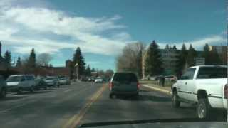 Grand Avenue, Laramie, Wyoming - Saturday 3rd November 2012