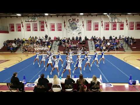 New Kent High School at The Charge it Up Cheer Invitational 2018