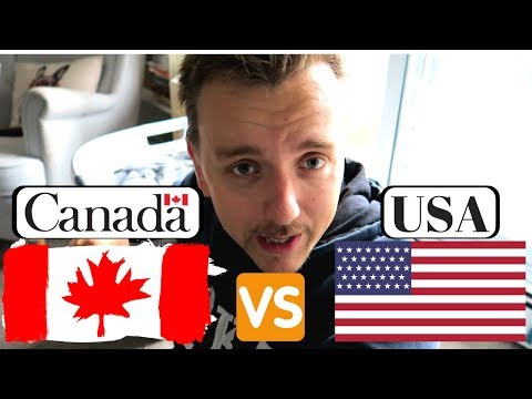 Life In Canada VS USA.