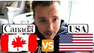 Life in Canada VS USA.
