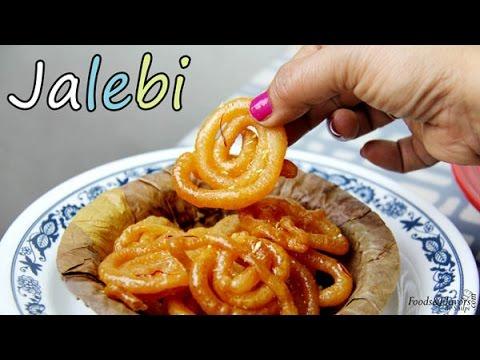 jalebi recipe | How to make instant Jalebi at home | Indian sweet crisp Jalebi