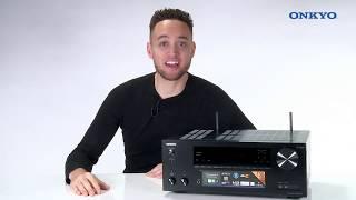 видео Новый AV-ресивер Onkyo TX-NR686