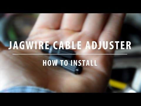 Jagwire Inline Cable Adjusters - Installation and Adjustment - Bicycle Maintenance