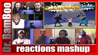 Black Panther vs Batman - Cartoon Beatbox Battles REACTIONS MASHUP
