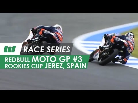 Red Bull MotoGP Rookies Cup | Jerez Circuit Spain | RACE SERIES - Ep 3