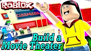 Roblox Build a Movie Theater Tycoon - My Cinema is ARMED?!?!!!! - DOLLASTIC PLAYS!