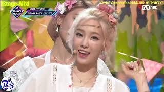 [Stage-Mix] Girls' Generation(소녀시대) ★ 'PARTY'