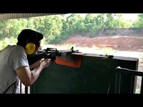 越南實彈射擊 Vietnam Shooting M16 5.52mm