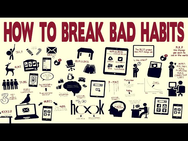 How to Break Bad Habits - Hooked: How to Build Habit-Forming Products by Nir Eyal