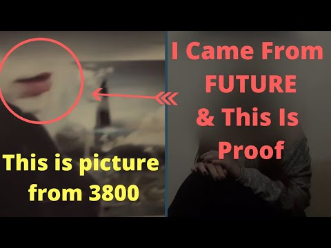 Time Traveller From 3800 Shows A Picture As The Proof. Is It Real?