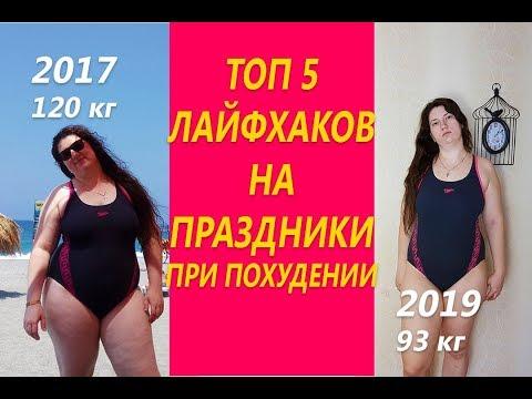 Топ 5 лайфхаков на праздники при похудении Как пережить праздники Похудела на 29 кг