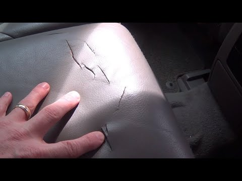 How to: Vinyl and Leather Repair