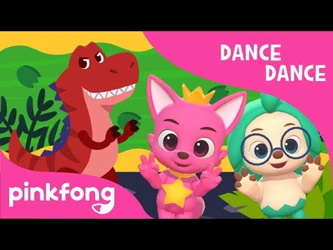 Move Like the Dinosaurs   Dance Dance   Dance Along   Pinkfong Songs for Children
