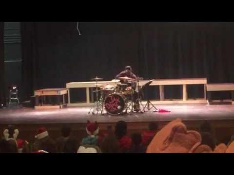 "JAX DRUMZ ""SOUL DRUMMING YOUTH SPEAKING"" @ SAUQUOIT VALLEY HIGH SCHOOL ON TUES 12/20/16 {PART 1}"
