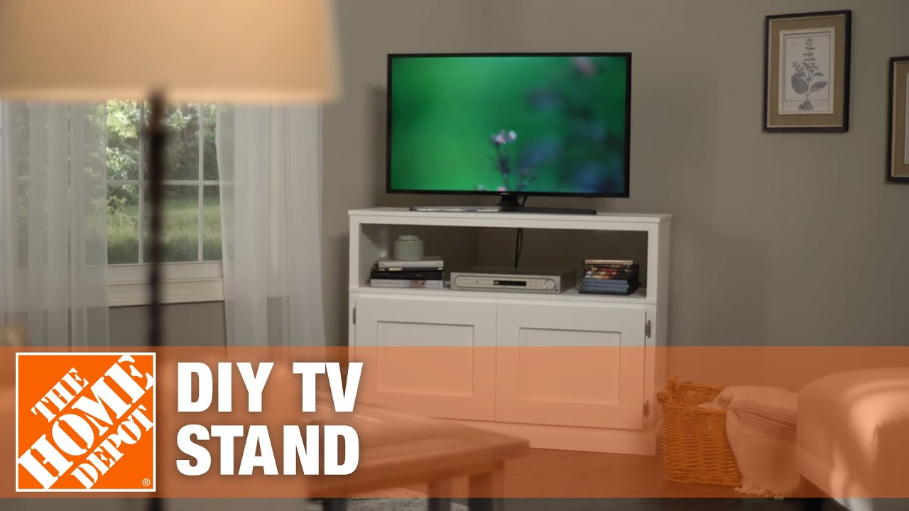 Diy Tv Stand How To Build A Tv Stand Simple Wood Projects Youtube