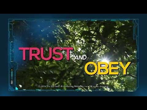 Trust And Obey Superbook Music Video Youtube