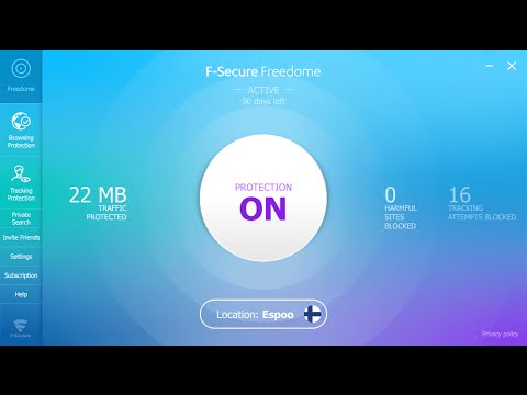 Get F-Secure Freedome VPN for 6 Month